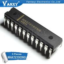 5 PIÈCES MAX7219CNG DIP24 MAX7219 DIP-24 DIP 7219CNG DIP-24 MAX7219ENG