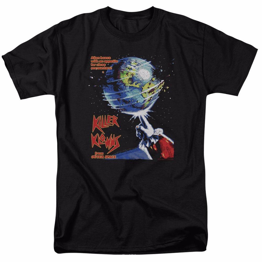 Camiseta Killer Klowns de los invasores del espacio exterior con licencia para adultos