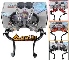 Adelin brake Pump PX1 motorcycle Radial master cylinder lever clutch universal 16mm 17.5mm 19mm For Yamaha Kawasaki Suzuki