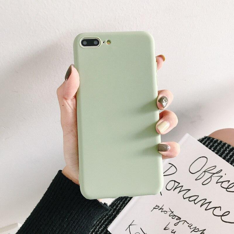 Para OPPO A3S F9 Pro F5 Plus Youth A73 A83 funda color caramelo suave mate claro muchos colores funda para teléfono móvil funda Coque