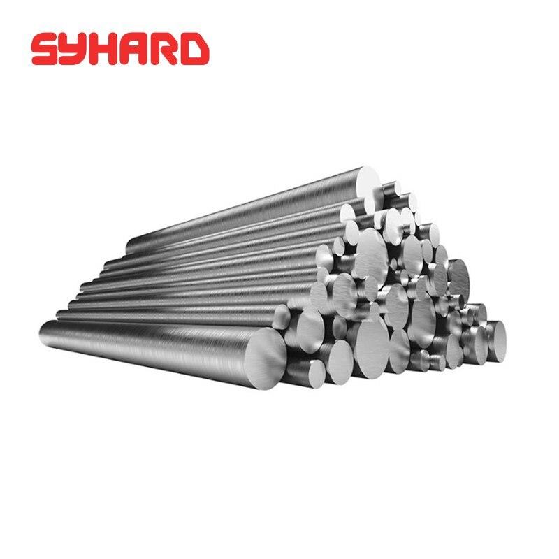1-6mm 10 unids/lote 304 varilla de acero inoxidable barra sólida de acero inoxidable barra recta redonda de metal bar de materia prima (longitud 500mm)
