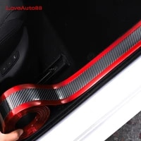 car door protector sticker sill scuff plate pedal strip scratchproof protective tape for nissan teana j32 car accessories