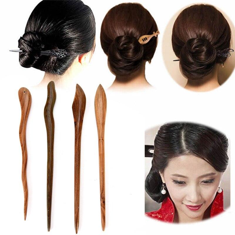 Hairwear Top Qualität Haar Sticks Schönheit Holz Verawood Haar Pins Zubehör Heißer Mode Chinesischen Stil Haarnadeln Für Frau