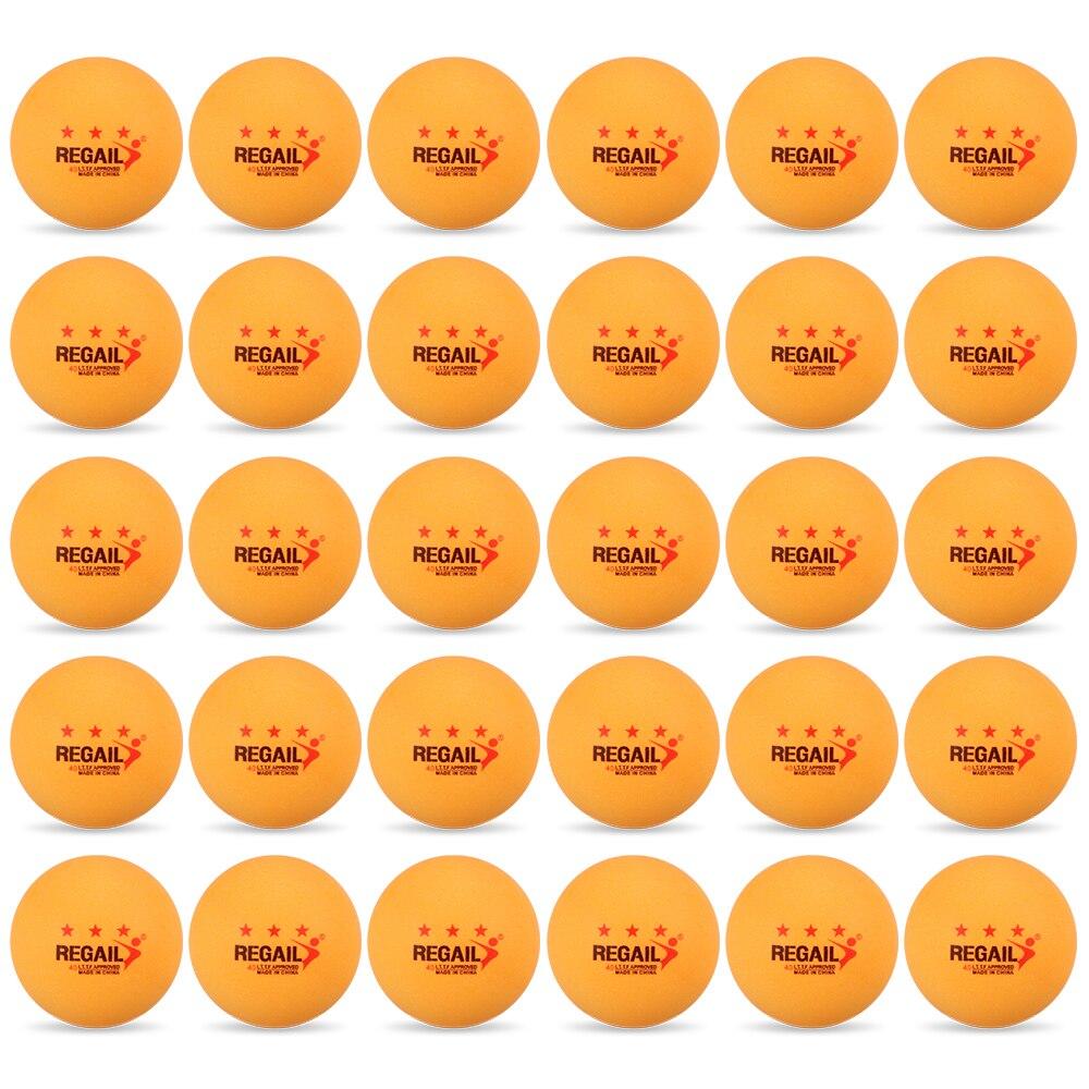 Мячи для пинг понга любительские тренировочные мячи уличных видов спорта 30 шт. 3
