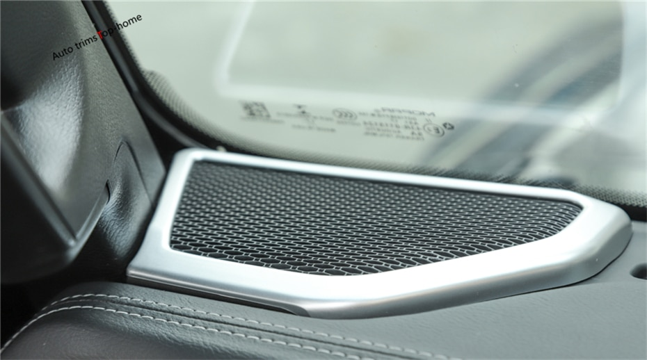 Yimaautotrims pilar uma janela interna estéreo alto-falante áudio capa para jeep wrangler jl 2018-2020 molduras interiores