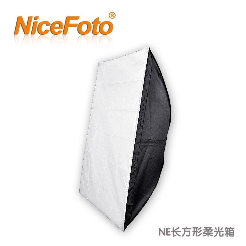 Студийная Вспышка Nicefoto, софтбокс, экономичный прямоугольник, софтбокс, ne08-50x70cm
