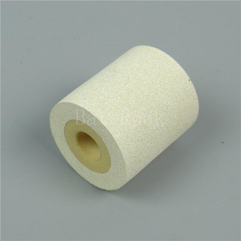White Color Solid Ink roll,BateRpak 12pcs/carton 100% sponge ink roller,solid coding machine rolls,36*32/40mm 90-130degree enlarge