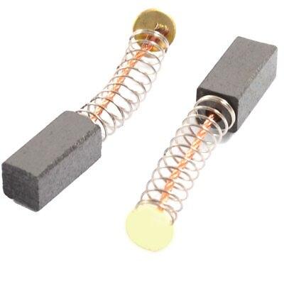 "2pcs Power Tool Electric Hammer Carbon Brushes 11 x 5 x 5mm 7/16"" x 1/5"" x 1/5"""