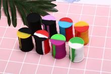 11ml Silicone Nonstick Container Storage Box for Oil Wax Jar Dab Random Color