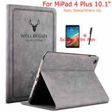 Fall für Xiao mi mi Pad 4 10 Plus Tablet Funda Dünne Magnetische Flip PU Leder Smart Abdeckung für xiao mi mi Pad 4 Plus 10,1 Fall