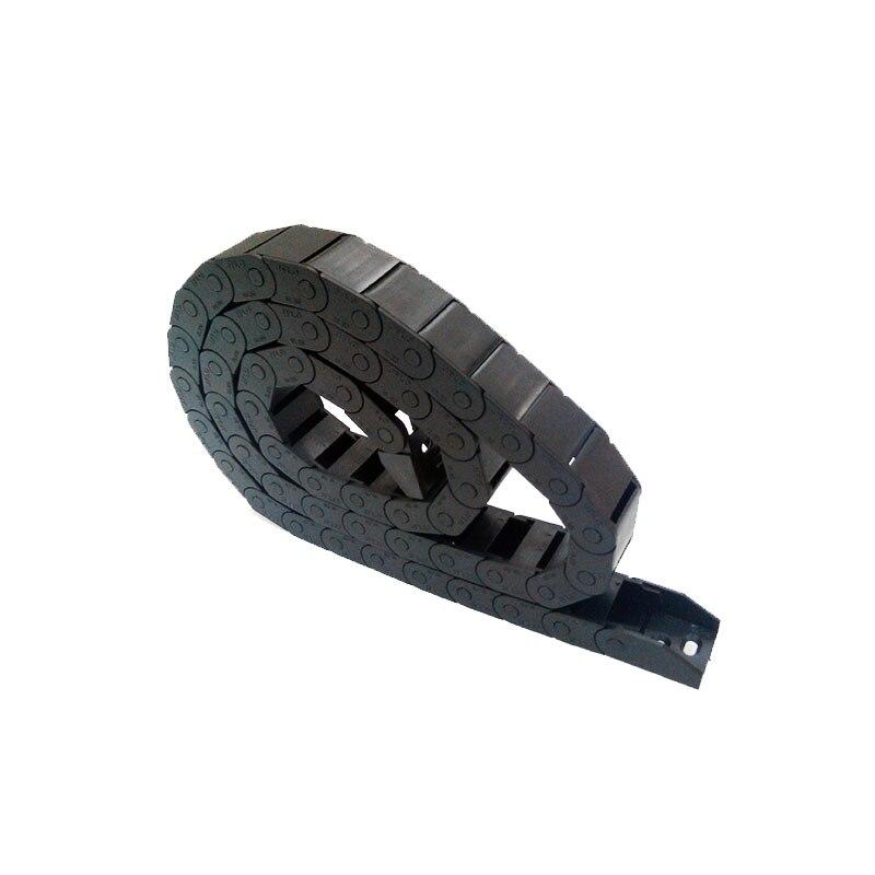 """Envío Gratis JFLO 10x20mm 1 metro 100cm 40 """"cadena de arrastre de Cable de plástico con conector para enrutador CNC"""