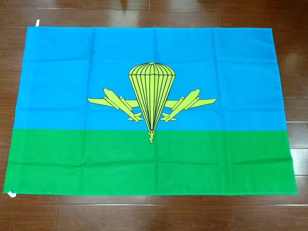 90*135cm USSR cccp ejército ruso militar paracaidista Bandera de tropas aerotransportadas