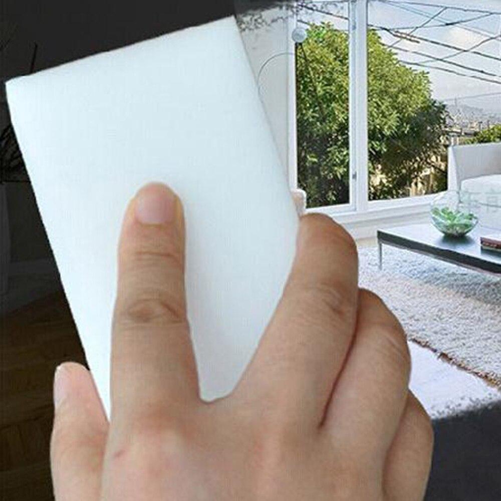 20x esponja de melamina Borrador de esponja mágico limpiador de melamina para Cocina Oficina esponja para limpieza de baño 10x6x2cm limpiador de coche