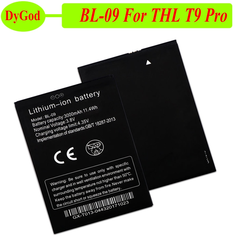 BL 09 BL-09 Battery for THL T9 Pro Bateria Batterij Accumulator 3000mAh