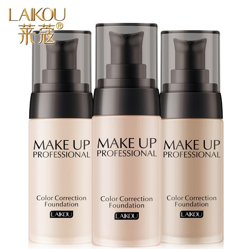 AliExpress - Makeup Base Face Liquid Foundation BB Cream Concealer Moisturizer Oil-control Whitening Waterproof Liquid Foundation Maquiagem