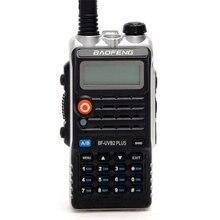 De Baofeng UVB2 más UV-B2 Radio de dos vías de doble banda VHF/UHF Walkie Talkie 128CH interphone BF-UVB2 jamón CB Radio de mano transceptor de