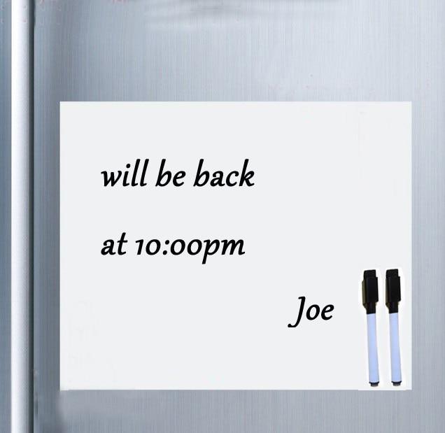 Магнитная доска на холодильник со стираемыми чернилами, офисный блокнот для заметок x блокнот-органайзер см