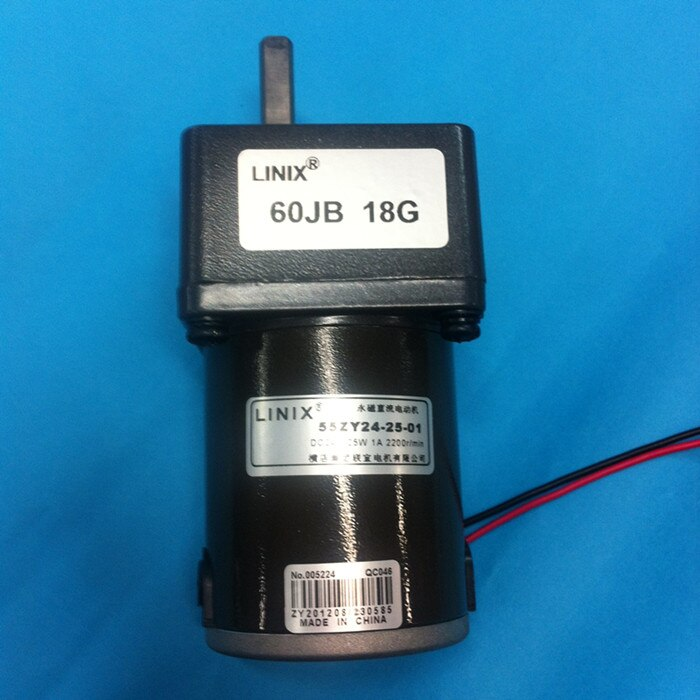 LINIX Gear reducer motor 60JB18G 55ZY24-25-01 Deceleration new original