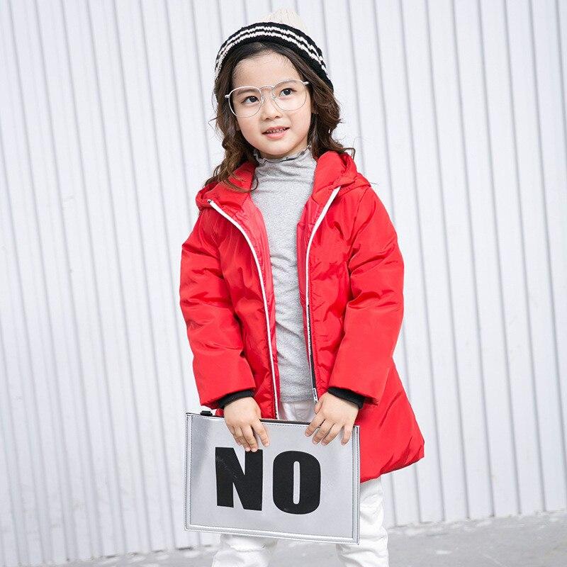 جاكيت وينيت إيونغ للبنات والأولاد ، سميك ، دافئ ، أحمر ، مجموعة 2019