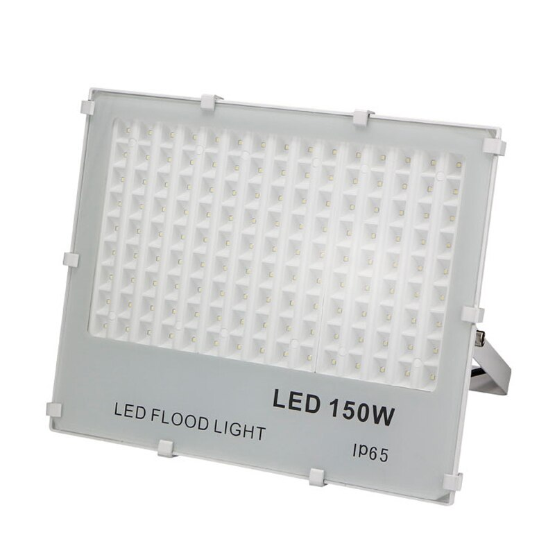 Reflector ultrafino Foco LED luz Exterior 100w 150w 200w AC85-265V impermeable IP65...