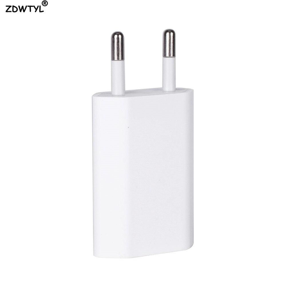 USB кабель с вилкой европейского стандарта AC, зарядное устройство для путешествий, адаптер питания для Apple iPhone 5 5S SE 5C 6 6s 7 8 Plus X XR XS Max, зарядное устройство