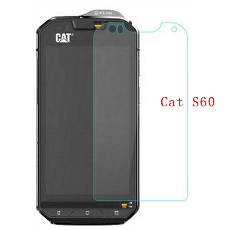 2 uds para Caterpillar Cat S60 de vidrio templado 9H 2.5D a prueba de arañazos protector de pantalla Premium película para gato S60 de la caja del teléfono móvil