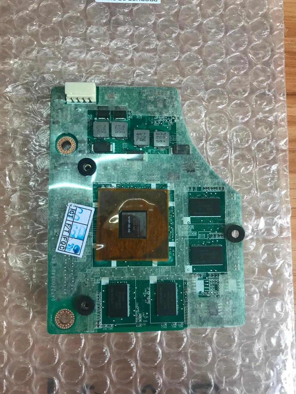 DATZ2GUBAD0 GT 230M GT230M N10P-GE-A2 DDR3 1 ГБ графическая карта для Toshiba Qosmio P500 P505D X500 x505 тест 100%