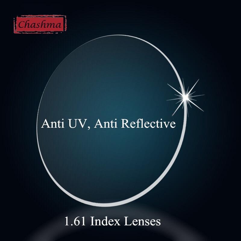 عدسات شاشما 1.61 مؤشر واضح وصفة عدسة عيون النظارات البصرية تخصيص العدسات وصفة طبية