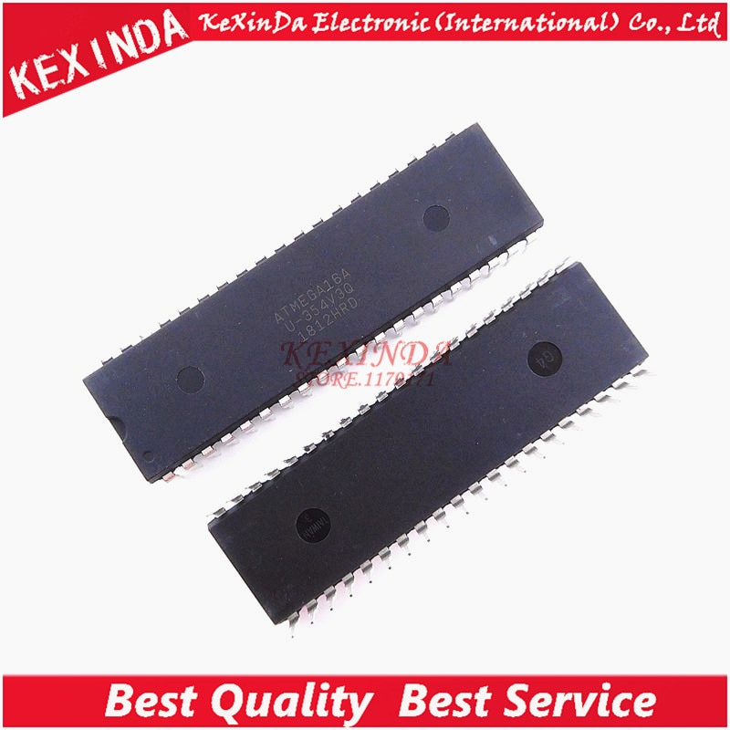 ATMEGA16A-PU ATMEGA16 ATMEGA16A DIP-40 IC 2 шт./лот Бесплатная доставка