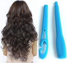 Yeni 18 adet manuel saç maşaları silindirleri sihirli kolay kullanım saç kıvırcıklaştırıcılar Spiral daire saç kıvırma çubuğu güvenlik saç şekillendirici aracı kız