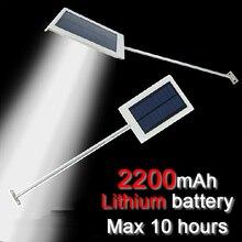 QLTEG 15 LED lampe solaire capteur panneau solaire alimenté lampadaire LED extérieur jardin chemin Spot mur lampe de secours luminaria