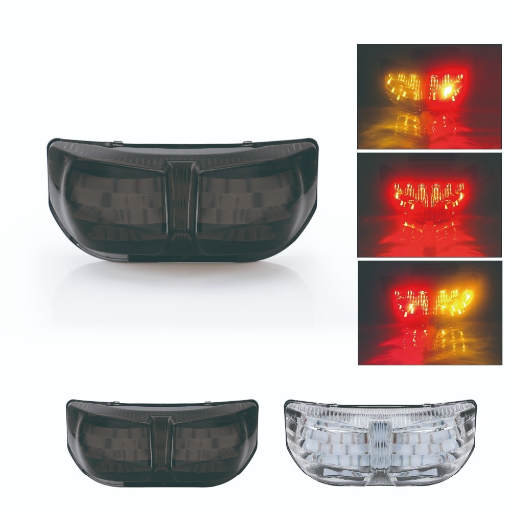 SPEEDPARK del ABS de la alta calidad LED luz trasera señal de giro integrada luz LED para Yamaha FZ8 Fazer 10-13 FZ1 N FZ1 Fazer 06-13