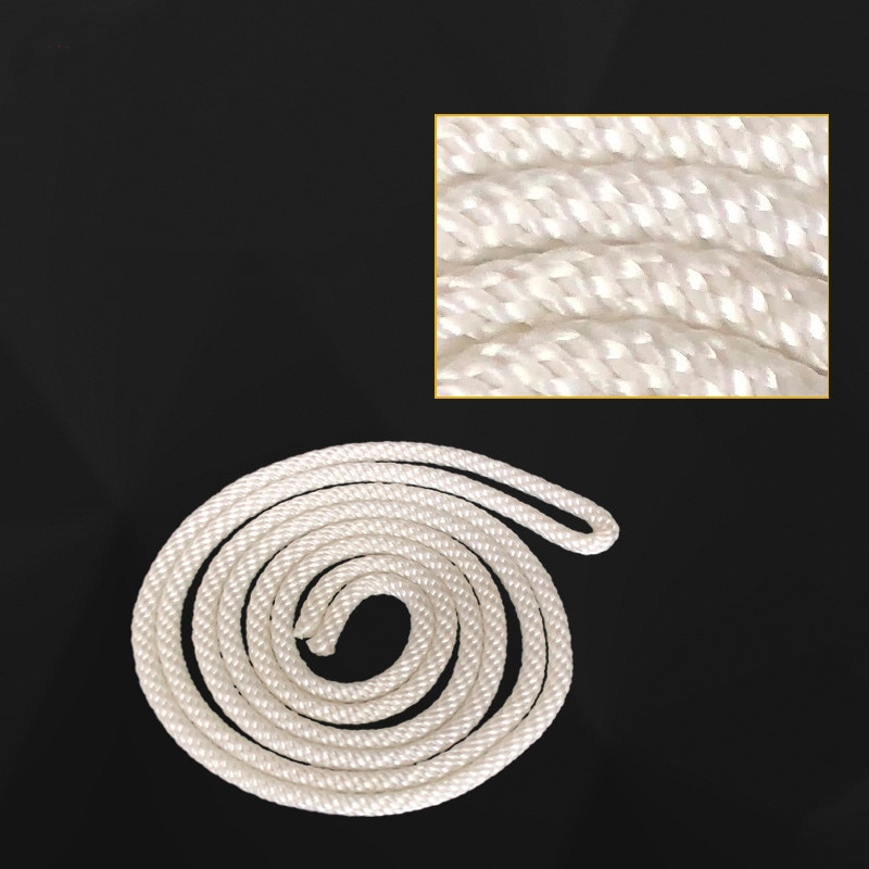 Cable de arranque de 3 uds. De 0,4 cm x 125cm para motor HONDA GX110 GX120 GX160 GX200 168F 5,5 HP, piezas de repuesto