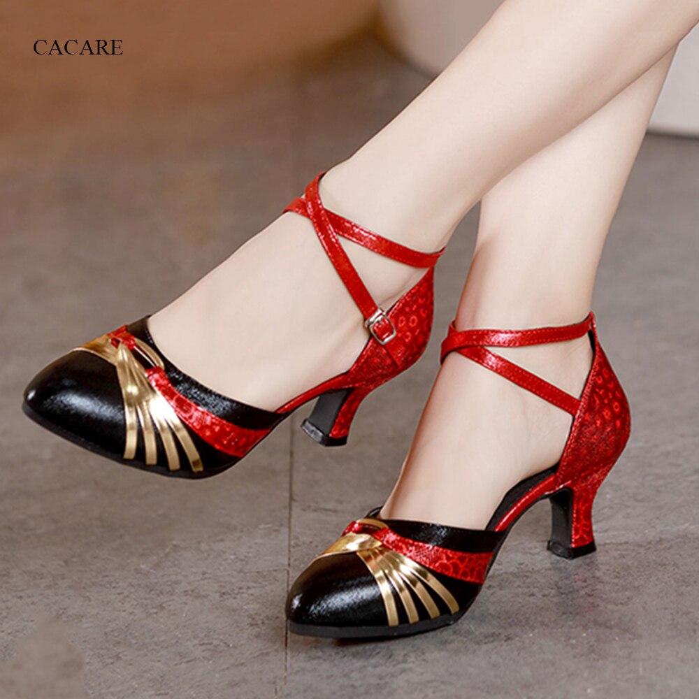 Zapatos de baile lírico, zapatos de baile contemporáneo para salón, latino, Salsa, Tango, Flapper, chachachá, 8 opciones, D0962