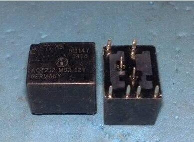 5 PCS ACT212 M02 12VDC 160o bobina dupla