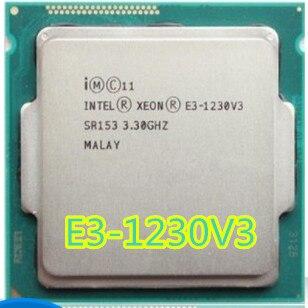 Procesador Intel E3-1230 V3 E3 1230 V3 E3 1230 V3 Quad-Core LGA1150 CPU de escritorio, procesamiento de escritorio adecuado