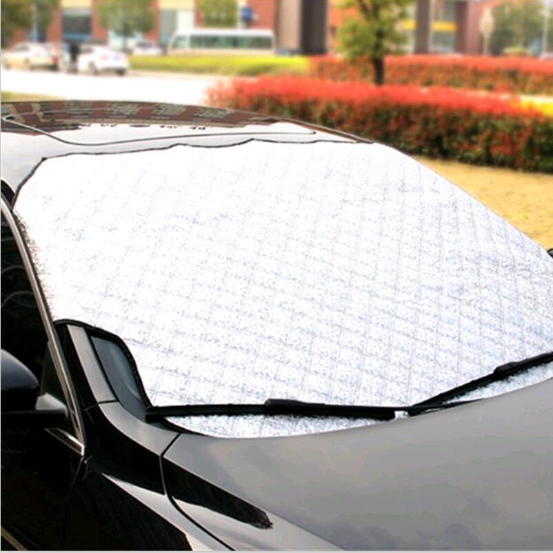 car Window Sunshade Car Snow Covers for mitsubishi outlander volvo xc90 honda civic peugeot 308 Renault Logan Toyota accessories