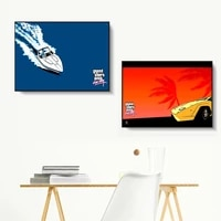 gta vice city sunset landscape wall pictures posters prints canvas art unframed paintings decoration modern home decor cuadro