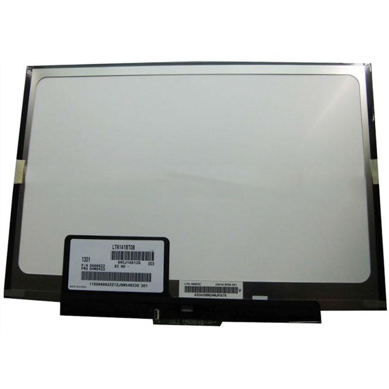 14 slim pantalla lcd de ordenador portátil LTN141BT08 LT141DEQ8B00 para Lenovo thinkpad T400S T410S portátil 1440*900