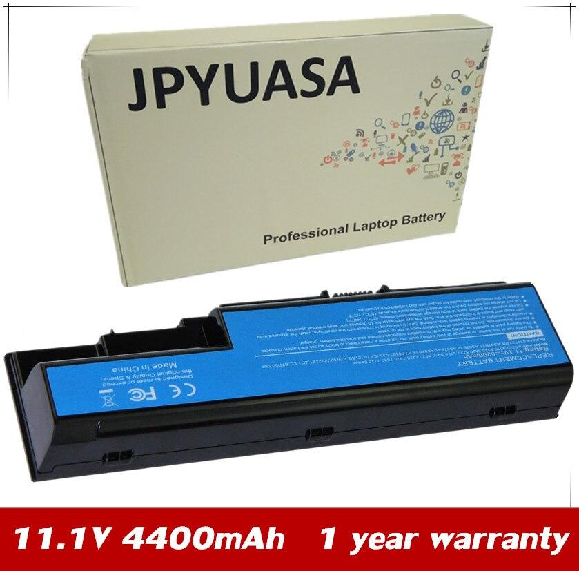7XINbox 4400mAh 11,1 V batería del ordenador portátil para Acer Aspire 6530, 6920, 6930, 6935, 7220, 7330, 7520, 7530, 7720, 7730, 8730, 8920, 8930, 7630, 7230