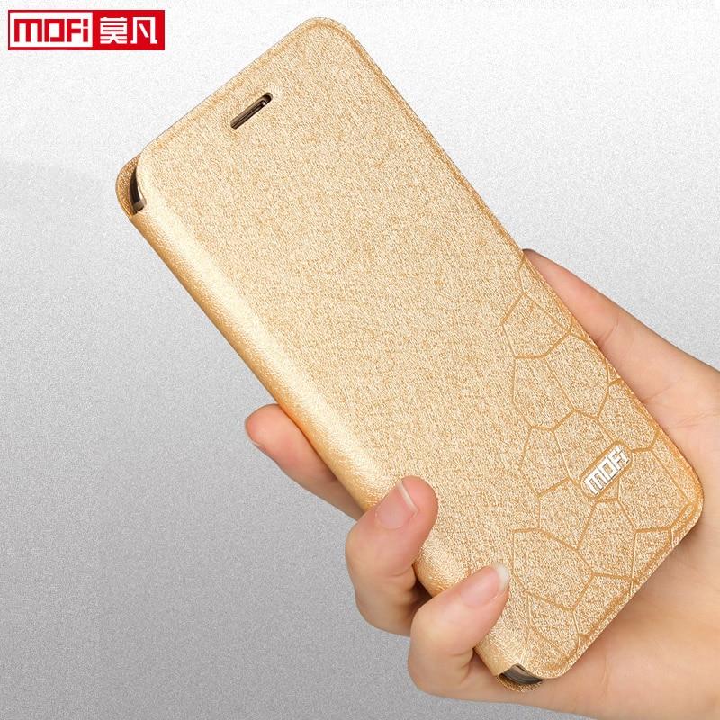 flip case for xiaomi redmi note 5 pro cover case leather book Mofi luxury soft silicon global redmi