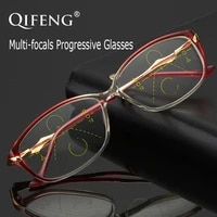 multi focus progressive reading glasses women tr90 presbyopic diopter eyeglasses female 1 01 52 02 53 0 qf219