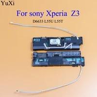 yuxi 1pcs for sony xperia z3 d6633 l55u l55t ringer loud speaker ringer buzzer loudspeaker parts loudspeaker wifi signal module