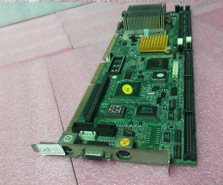 100% Original OK Placa IPC LMB-371ZX REV1.0 Full-size PICMG ISA Placa De CPU Mainboard Industrial 1.0 com CPU RAM