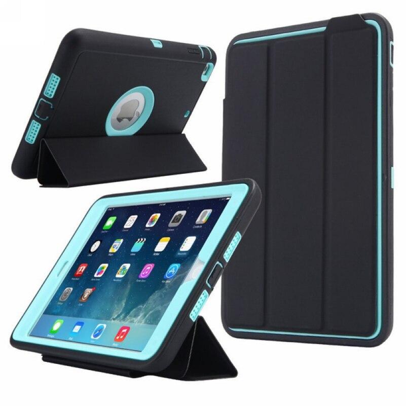 Защитный чехол для Apple iPad mini 3/2/1, противоударный жесткий чехол с полным корпусом для смарт-сна с защитой экрана