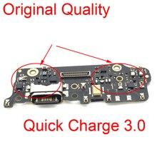 빠른 충전 3.0 충전 포트 보드 xiao mi mi a2 dock 충전기 플러그 커넥터 mi c mi crophone module for xiao mi mi 6x