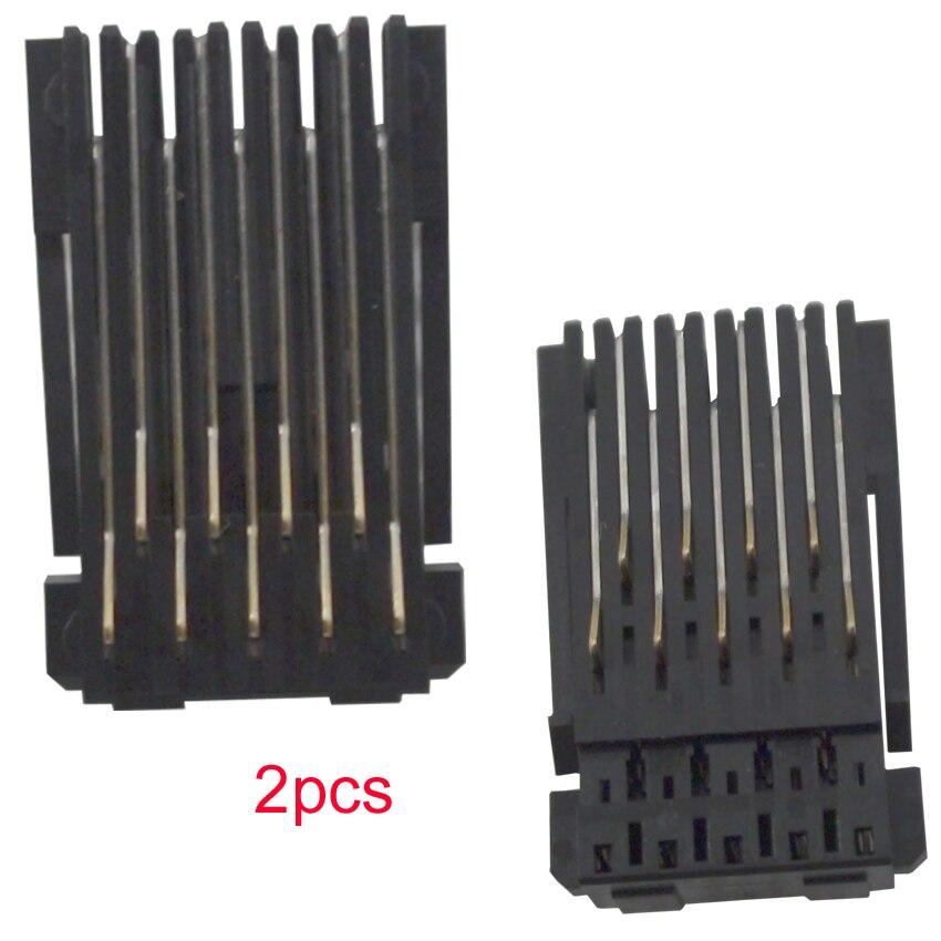 CEYE For EPSON Workforce WF-2650 2650DWF 2651 2660 2660DWF 2661 2750 2760 Cartridge chip Connector holder CSIC ASSY 2pcs