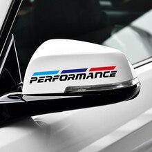 Performance Power Sport Car Raerview Mirror Sticker & Decal Accessories for BMW E46 E90 E39 E60 E36