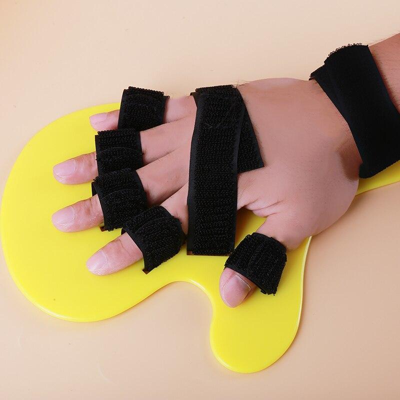 Férula apoplejía hemiplejia derecha izquierda para los hombres las mujeres Corrector muñeca mano órtesis separado dedo Flex espasmo Placa de extensión