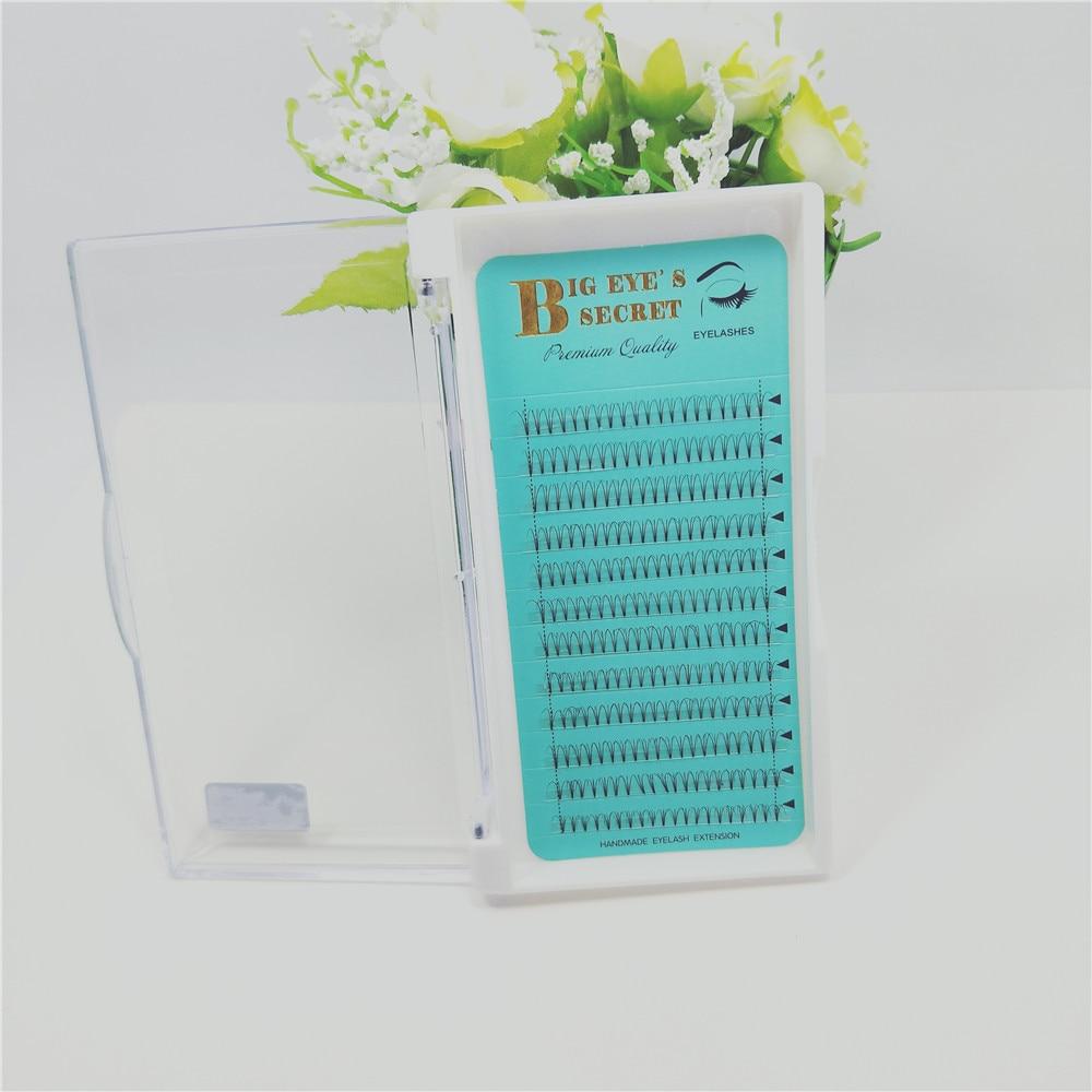 3D Russia Volume Korea Silk premade Lash Eyelash Extension Handmade Natural Long prefanned Lashes False Lash free shipping